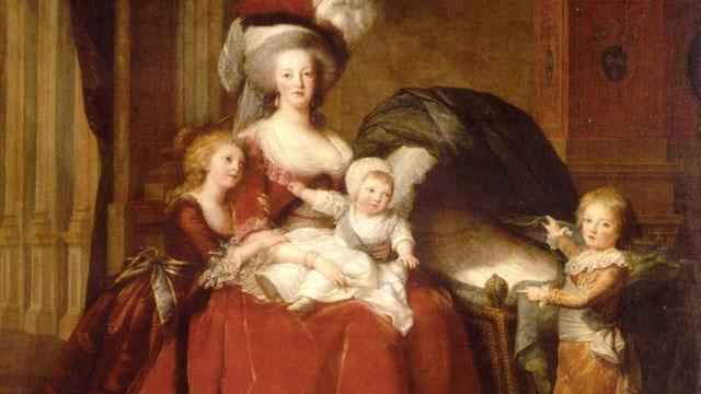 Descendents of Maria-Theresa